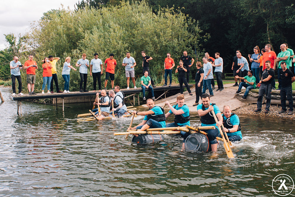 Team Raft Build & Raft Race Competitions